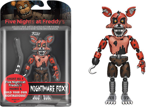 Funko Five Nights at Freddy's Series 2 Nightmare Foxy Action Figure [Build Nightmarionne Part]