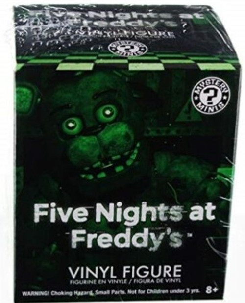 Funko Five Nights at Freddy's Mystery Minis Glow in the Dark Mystery Pack