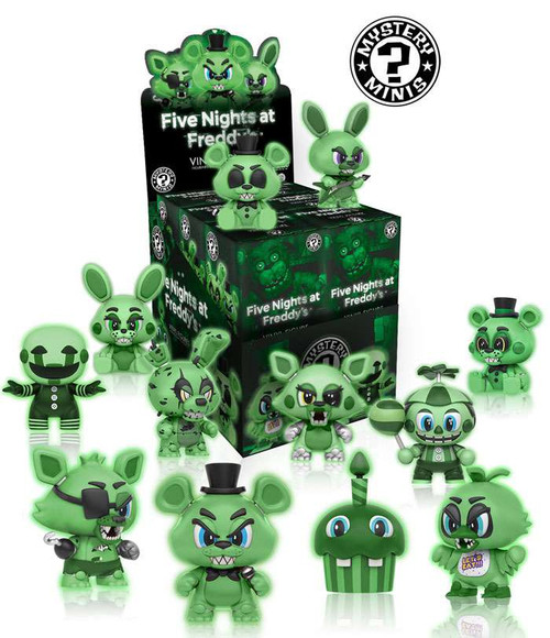 Funko Mystery Minis Five Nights at Freddy's Glow in The Dark Mystery Box