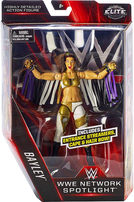 WWE Wrestling Elite Network Spotlight Bayley Exclusive Action Figure [Entrance Streamers, Cape & Hair Bow]