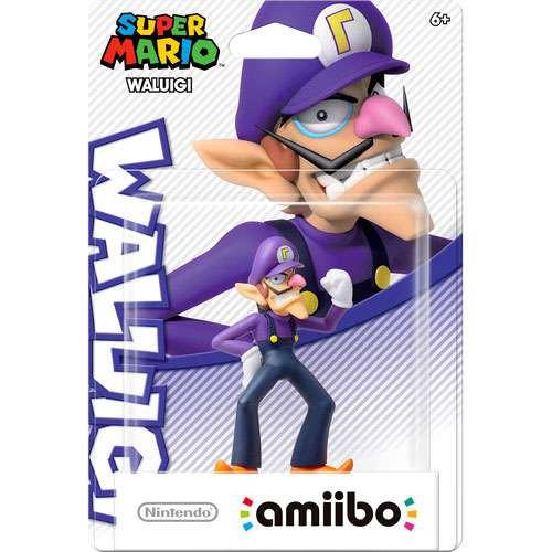 Nintendo Super Mario Amiibo Waluigi Mini Figure