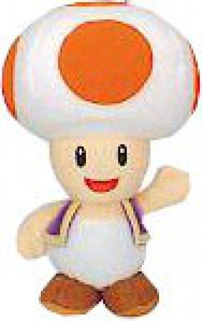 Super Mario Bros. Toad 3-Inch Plush Keychain