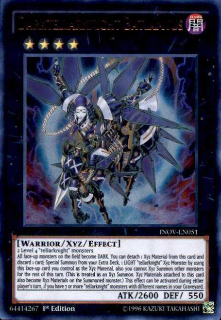 YuGiOh Invasion: Vengeance Ultra Rare Darktellarknight Batlamyus INOV-EN051