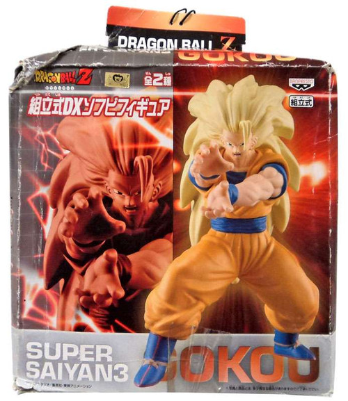 Dragon Ball Z Super Saiyan 3 Goku 8-Inch Vinyl Figure [Damaged Package]