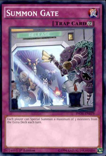 YuGiOh Invasion: Vengeance Common Summon Gate INOV-EN079