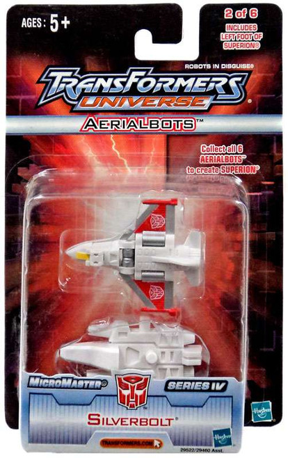 Transformers Universe Micromasters Series 4 Aerialbots Silverbolt Action Figure #2/6