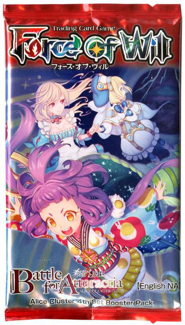 Force of Will Alice Cluster Chapter IV Battle for Attoractia Booster Pack