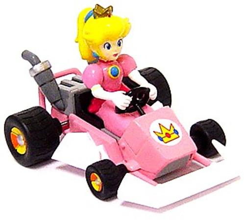 Super Mario Mario Kart Peach 4-Inch Mini Figure [Go-Kart]