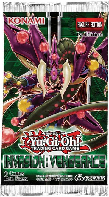 YuGiOh Trading Card Game Invasion: Vengeance Booster Pack