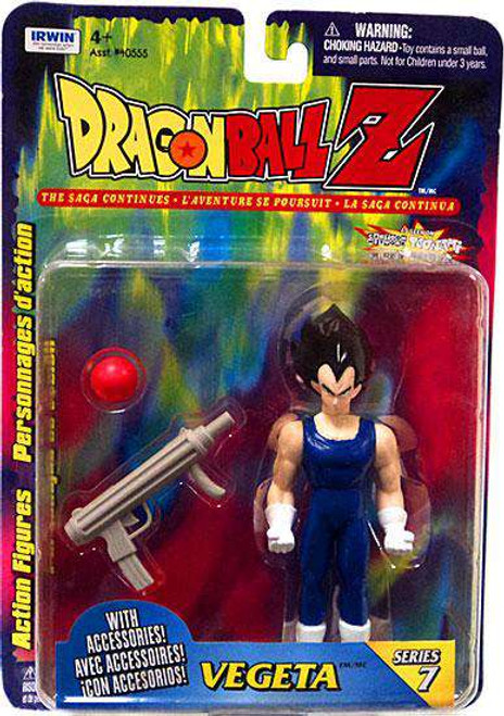 Dragon Ball Z Series 7 Vegeta Action Figure [Damaged Package]