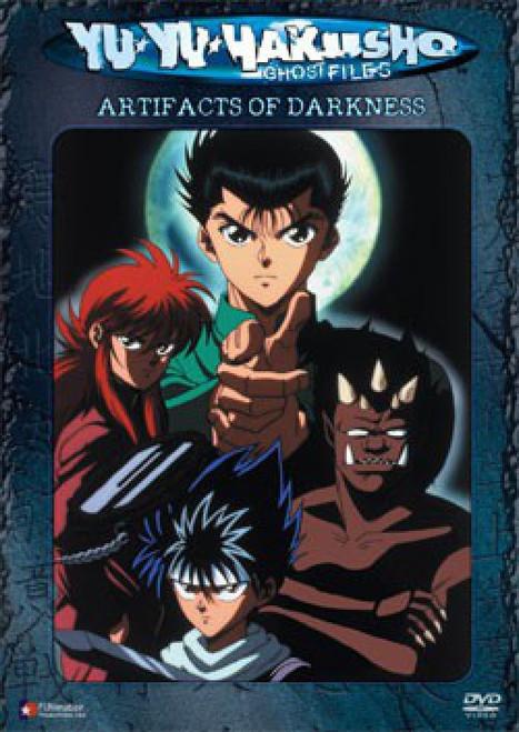 Yu Yu Hakusho The Spirit Detective Artifacts of Darkness DVD #02 [Uncut]