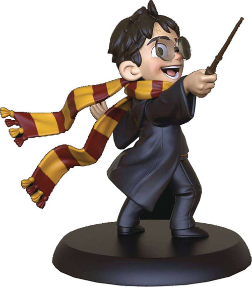 Harry Potter Q-Fig Harry's First Spell 3-Inch Figure