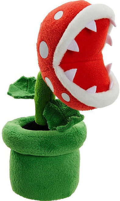 World of Nintendo Super Mario Piranha Plant 8-Inch Plush