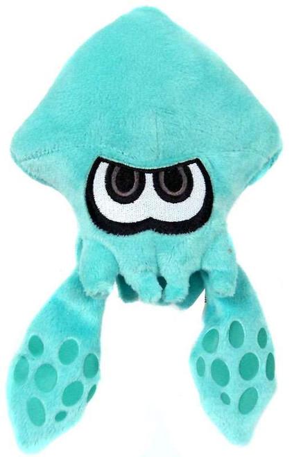 Splatoon World of Nintendo Turquoise Squid 7-Inch Plush