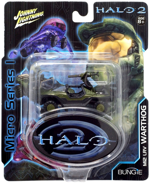 Halo 2 Johnny Lightning Series 1 Warthog Diecast Vehicle [Gauss Cannon]
