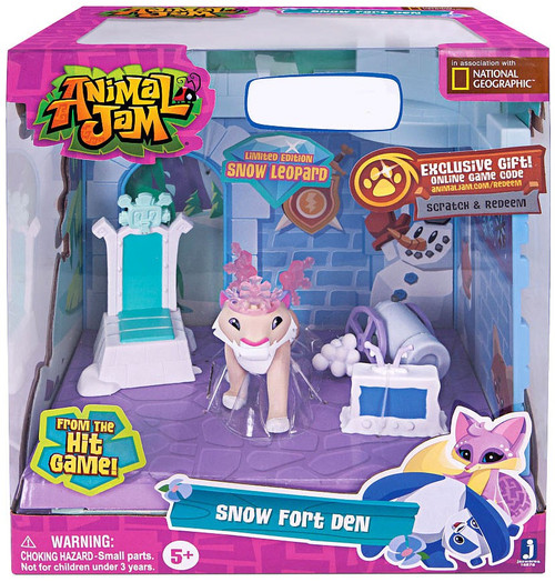 Animal Jam Snow Fort Den Exclusive Playset