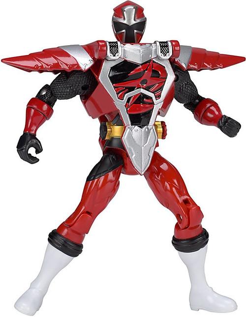 Power Rangers Ninja Steel Deluxe Action Heroes Red Armored Ranger Action Figure
