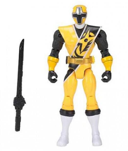 Power Rangers Ninja Steel Action Heroes Yellow Ranger Action Figure