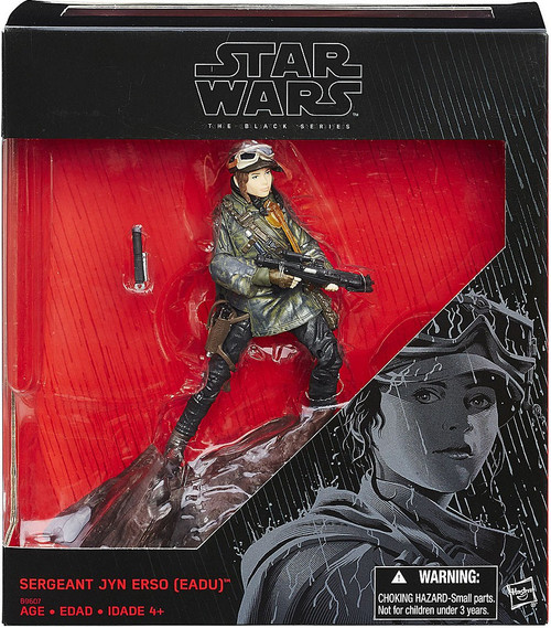 Star Wars Rogue One Black Series Sergeant Jyn Erso (Eadu) Exclusive
