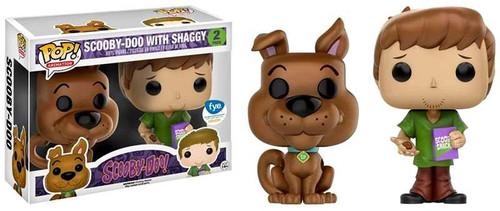 Funko Scooby Doo POP! Animation Shaggy & Scooby Exclusive Vinyl Figure 2-Pack