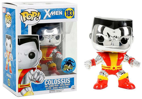 Funko POP! Marvel Colossus Exclusive Vinyl Bobble Head #183 [Chrome, Orange & Red]