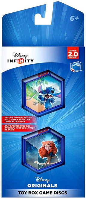 Disney Infinity 2.0 Originals Toy Box Game Discs
