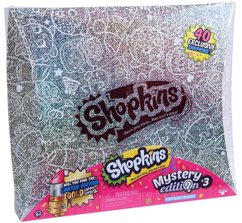 Shopkins Mystery Edition #3 Set [40 Shopkins]