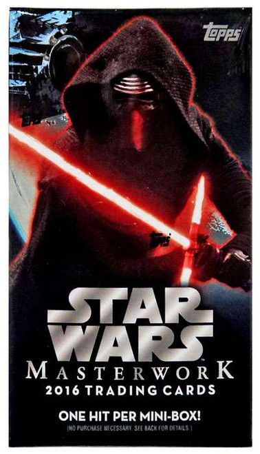 Star Wars Topps 2016 Masterwork Trading Card MINI Box [1 Hit!]
