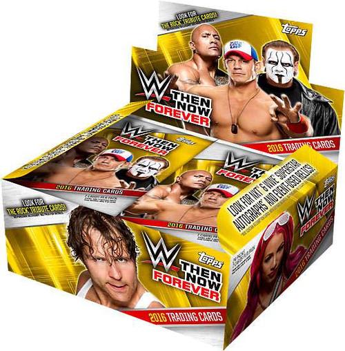 WWE Wrestling Topps 2016 Then Now Forever Trading Card HOBBY Box [24 Packs]