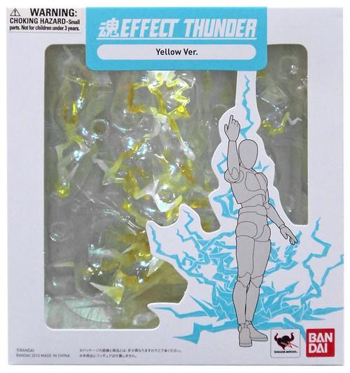 Tamashii Effect Thunder Yellow Action Figure Accessory