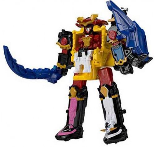 Power Rangers Deluxe Ninja Steel Megazord Action Figure