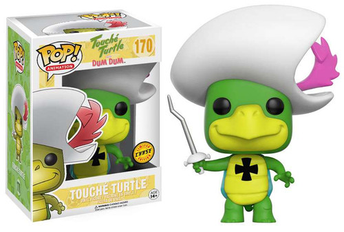 Funko Hanna-Barbera POP! TV Touche Turtle Vinyl Figure #170 [With Cross Chase Version]