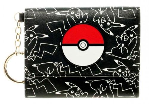 Pokemon Pokeball Tri-Fold Wallet