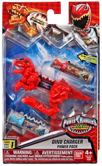 Power Rangers Dino Super Charge Red Dino Charger Power Pack #43266