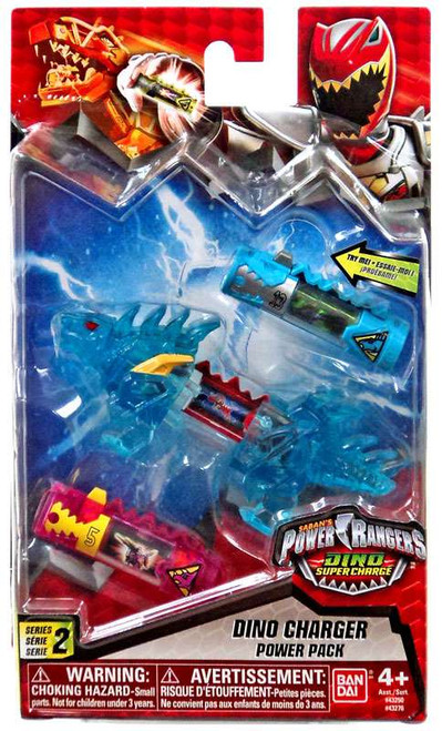 Power Rangers Dino Super Charge Series 2 Translucent Blue Dino Charger Power Pack #43276