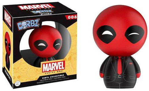 Funko Marvel Dorbz Dressed to Kill Deadpool Exclusive Vinyl Figure #006