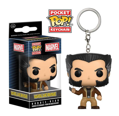 Funko X-Men POP! Marvel Wolverine Keychain [Logan]