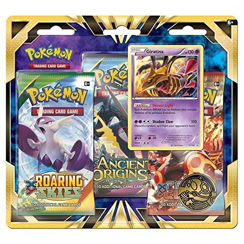 Pokemon Trading Card Game XY Giratina Special Edition [3 Booster Packs, Promo Card & Coin]
