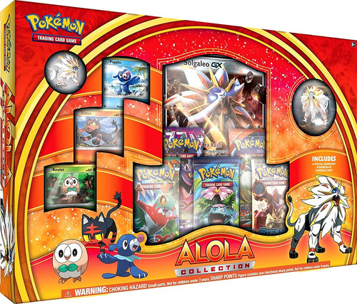 Pokemon Trading Card Game Solgaleo Alola Collection [Red & Orange]