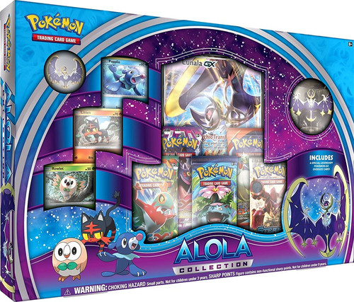 Pokemon Trading Card Game Lunala Alola Collection [Blue & Purple]
