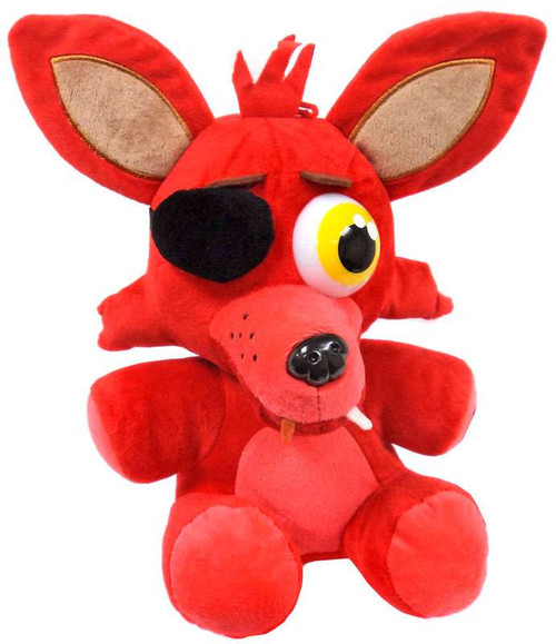 Five Nights at Freddy's Foxy 10-Inch Plush [Sitting]