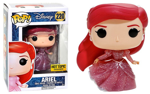 Funko Princess POP! Disney Ariel Exclusive Vinyl Figure #220 [Translucent Glitter]