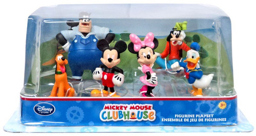 Disney Mickey Mouse Clubhouse Exclusive Figurine Playset