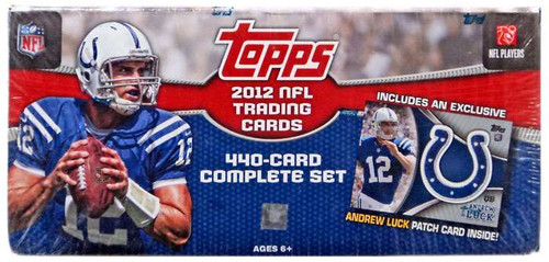 NFL Topps 2012 Football Trading Card Complete Set [440 Cards, Andrew Luck Patch Card!]