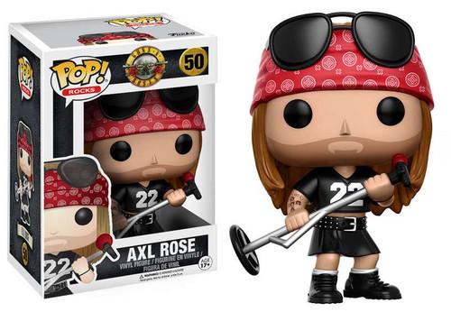 Funko Guns N Roses POP! Rocks Axl Rose Vinyl Figure #50