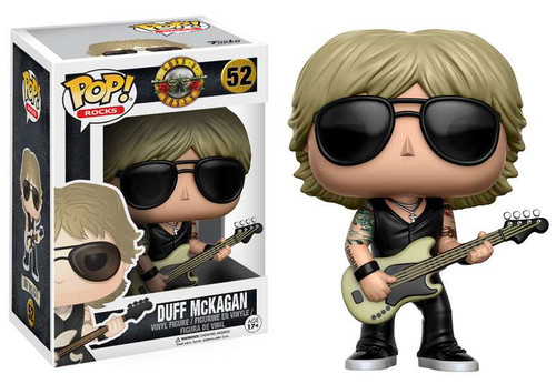 Funko Guns N Roses POP! Rocks Duff McKagan Vinyl Figure #52