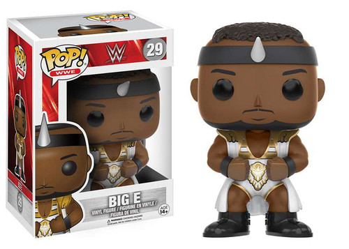 Funko WWE Wrestling POP! Sports Big E Vinyl Figure #29 [New Day - White Outfit]