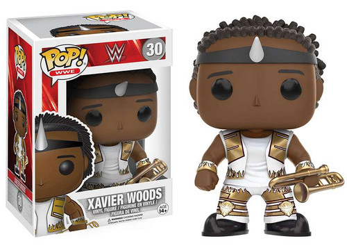 Funko WWE Wrestling POP! Sports Xavier Woods Vinyl Figure #30 [New Day, White Outfit]