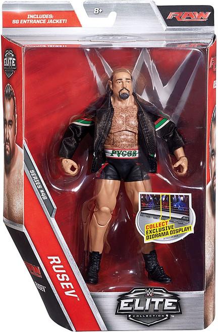 WWE Wrestling Elite Collection Series 46 Rusev Action Figure [SG Entrance Jacket]