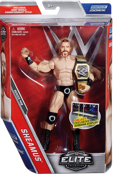 WWE Wrestling Elite Collection Series 46 Sheamus Action Figure [WWE World Championship Title]